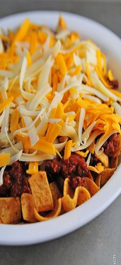 Frito Chile Pie - Super Simple Weeknight Dinner or Tailgating Recipe!