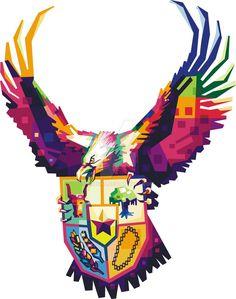 we say that pancasila by mihsnn on DeviantArt Music Room Art, Music Artwork, Music Therapy Activities, Pop Art, Design 3d, Music Tattoo Designs, Indonesian Art, Map Wallpaper, Music Painting