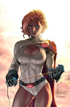 Power Girl by ~Luis-Guerrero #anime #artwork Auction your comics on http://www.comicbazaar.co.uk
