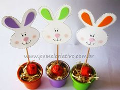 Coelhinho no Palito Easter Crafts, Holiday Crafts, Catholic Easter, Diy Ostern, Foam Crafts, Craft Foam, Easter Party, Kids House, Clipart