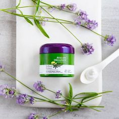 Hydrate and restore skin with the luxurious, soothing texture of Avalon Organics® Brilliant BalanceTM Ultimate Night Cream. Licorice Root works to even and energize skin tone, while Lavender and Cucumber support skin's health. Clinically proven - 89% of users reported their skin was smoother after 2 weeks of daily use.