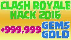 Clash Royale Hack 2016 - Clash Royale Hack 999999 Gems and Gold