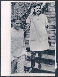 Joe and his Aunt Jackie