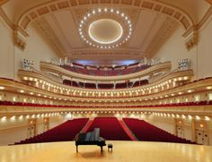 NYC. Carnegie Hall