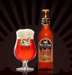 Cerveja Berlina India Pale Ale, estilo India Pale Ale (IPA), produzida por Berlina, Argentina. 4.8% ABV de álcool.