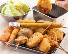 kushikatsu top Japanese food to try while in japan