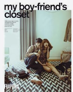 Joongki with Yoon Seung Ah for Nylon Korea