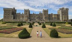 Windsor Castle Lush Garden, Terrace Garden, King George Iv, Hunting Land, British Home, The Royal Collection, Royal Residence, Castle House, Royal Life