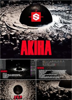 In this tutorial I will cover how I recreated the iconic AKIRA blast in a traditional inked style within Substance Designer, rendered within Marmoset Toolbag. Digital Sculpting, Levels Of Understanding, Akira, Cg Artist, Digital Art Tutorial, Zbrush, Art Tutorials, Unity, 3 D