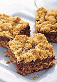 Heart Healthy Chocolate-Oat Bars