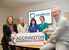Training partnership adds up for Springhill Care Home - Springhill Care Group Lancashire