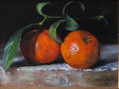 Mandarins by Karen Sutton Oil ~ 5 x 7