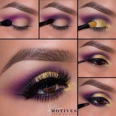 Prom Makeup Looks, Cute Makeup, Simple Makeup, Pretty Makeup, Natural Makeup, Eyeshadow Tips, Eyeshadow Makeup, Eyeshadows, Yellow Eyeshadow