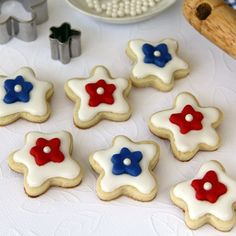 Fourth-of-July Fairy Cookies