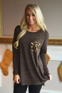 This gorgeous top has a looser fit and looks adorable with leggings! If you're in between sizes order down. Model...