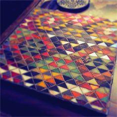 Mosaic kilim