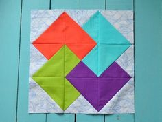 A Classic Card Trick Quilt Block You Can Sew With Scraps