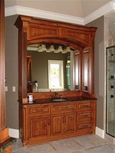 Custom cabinet bath by Classic Industries
