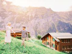 Switzerland+Wedding+Photographers+Gimmelwald,+John+&+Sarah+Engaged+couple