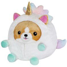 Unicorn Stuffed Animal, Cute Stuffed Animals, Baby Unicorn, Corgi Plush, Unicorn Costume, Cute Pillows, Cute Plush, Undercover, Pillow Design