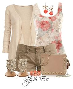 """""""aml"""" by stylisheve ❤ liked on Polyvore featuring Fat Face, A