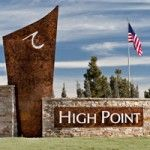 High Point Monument Signage