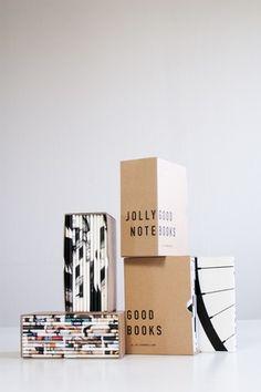 Jollygood Notebooks - Box, pack of 12 Pub Design, Nordic Design, Label Design, Scandinavian Design, Book Design, Graphic Design, Moleskine, Buy Posters Online, Unique Poster