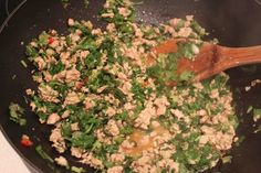 Just call me Bev: Asian minced chicken - BabyMac