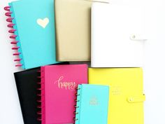 Happy Planner Cover, Journaling, How To Plan, Caro Diario
