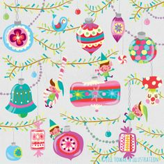 patterns and surface design :Jill Howarth Illustration