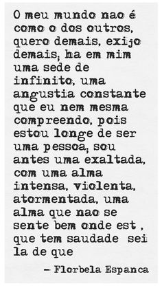 Palavras vagas que as vezes descrevem bem Poetry Quotes, Art Quotes, Inspirational Quotes, Quote Of The Day, Beauty Quotes, Book Authors, Lonely, Peace And Love, Sad