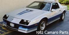 The 1982 Camaro was a Third Generation F-Body Camaro, spanning from years 1982-1992. 1982 marked the first year of the third gen Camaros, with a nearly all-new model, including reduced dimensions and weight, a four-cylinder engine for the Sport Coupe, consoles with glove boxes, power steering, and power brakes with front discs and rear drums.