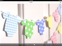 Great Idea for Baby Shower