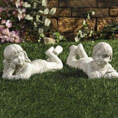 Boy and Girl Lying Down GARDEN STATUE sculpture set 2 OTC,http://www.amazon.com/dp/B0035H3F9I/ref=cm_sw_r_pi_dp_UkcEtb0KXK47456J