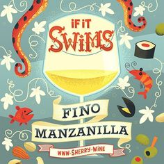 Obviously you can pair so many more foods with Fino and Manzanilla but you must agree this is one very easy way to remember how to pair with these delish biological aged wines. What's your favourite pairing with Manzanilla and Fino?  #sherrylover #sherryweek #sherry #fino #manzanilla #jerez #sanlucar #andalucia #spain #cadiz #winelover #instawine #instadrink #foodie #vinosdejerez