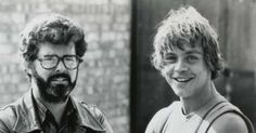 George Lucas and Mark Hamill