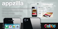 Appzilla - App/Portfolio theme (4 skins)