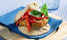 Σχάρας - BBQ Archives - Page 3 of 7 - www. Greek Recipes, Vegan Recipes, Vegan Food, Appetizer Recipes, Appetizers, Types Of Food, Salmon Burgers, Side Dishes, Bbq