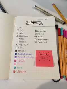 StudyingRight — started a bullet journal so I'm feeling good -G