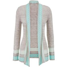 maurices Lightweight Patterned Stripe Cardigan