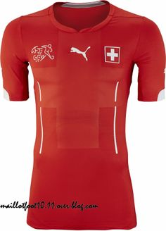 Switzerland 2014 World Cup Kits released. The new Switzerland 2014 Home Jersey is made by Puma and rather simple. World Cup Kits, World Cup 2014, Football Kits, Football Jerseys, Fifa World Cup Jerseys, Switzerland Football, Soccer Gear, Soccer Stuff, Sports Marketing