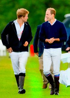 ♔Brothers♔Prince Harry♔Prince William...at the Audi Polo Challenge | May 31, 2015