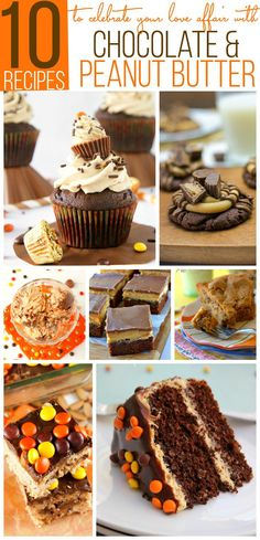10 Recipes to Celebrate your Love Affair with Chocolate and Peanut Butter