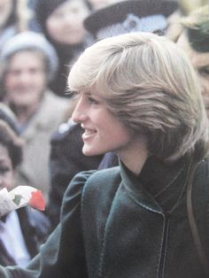 November 30 1982 Princess Diana visiting the Youth Advice, Information and Development Centre in Catford,
