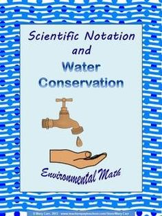Scientific Notation and Water Conservation - Environmental Math ...