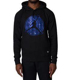 JORDAN Pullover hoody Hood with adjustable drawstrings Long sleeves Kangaroo pockets Ribbed cuffs and hem AIR JORDAN graphic RETRO 11 Space Jam inspired hoody