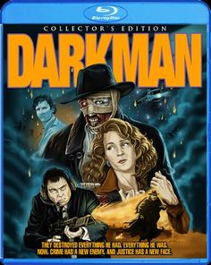 DARKMAN COLLECTOR'S EDITION BLU-RAY / UNIVERSAL STUDIO / R / 1990 / APPROX TIME: 95 MINUTE / MPEG-4 / AVC 48:MBPS / 1920 X 1080 / BD-50 GB / DTS-HD MASTER LOSSLESS AUDIO 5.1 / DTS-HD MASTER LOSSLESS AUDIO 2.0 / SUBTITLE: ENGLISH / SHOUT! & SCREAM FACTORY HOME ENTERTANMENT / RELEASE DATE: FEBRAURY 18TH  2014