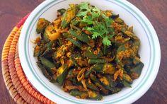 Makai Wali Bhindi Recipe