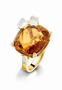 - Piaget Ring - Limelight Ring - Whisky on the Rocks