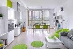 Mieszkanie Natalii i Pawła ma dwa pokoje i 48 m kw.